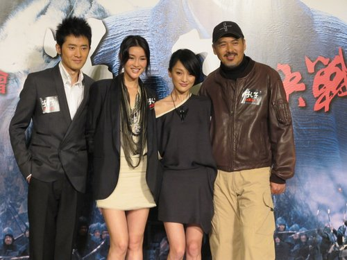 《孔子》香港首映发哥周迅互夸 任泉被赞能吃苦