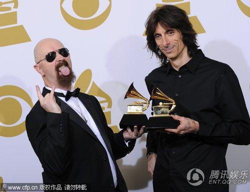 第52届格莱美Judas Priest获最佳金属演奏奖