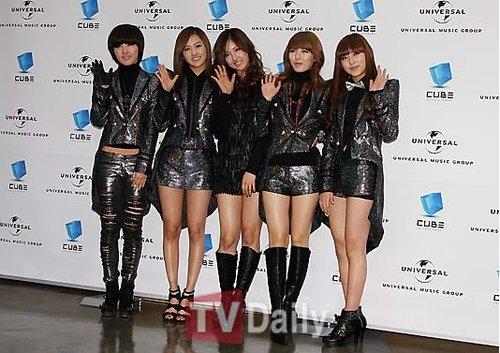 韩国女子组合4minute 梦想能成为亚洲韩流巨星