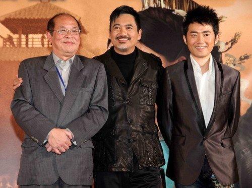 《孔子》台湾宣传 周润发获台湾影迷热情欢迎