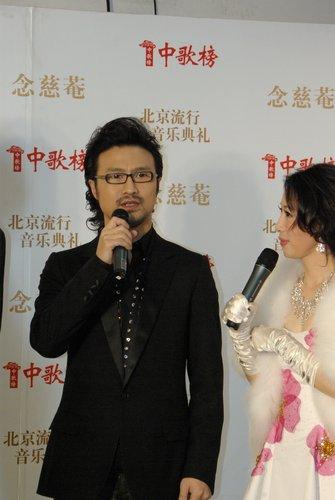 汪峰中歌榜连夺四奖 证明创作及演唱全能力量
