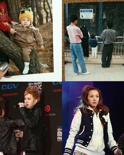 2NE1成员Dara公开弟弟照片 勾起年幼美好回忆