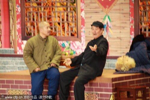 赵本山:《捐助》是高级小品 王小利肯定会火