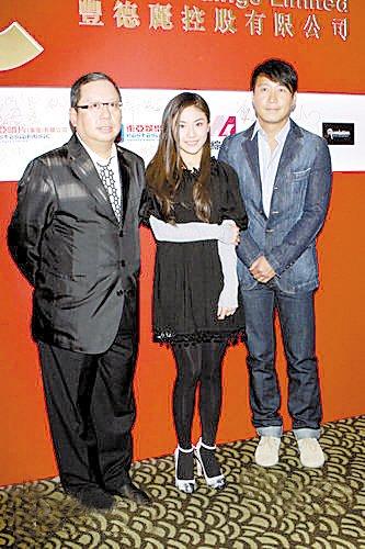 """贡米签约黎明公司 声称要与张柏芝""""划清界限"""""""