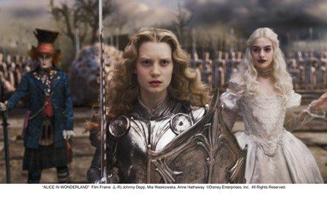 《爱丽斯梦游仙境》首周末票房大捷突破1亿