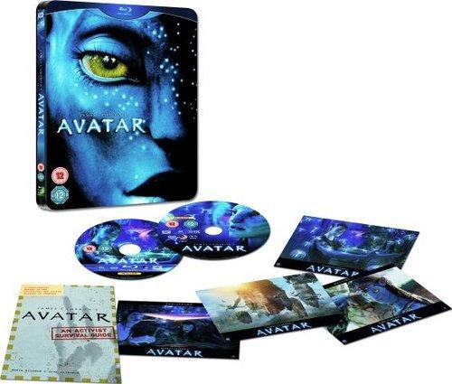 巨片《阿凡达》首版DVD和蓝光碟发行信息公布