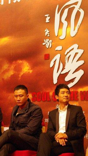 组图:郭晓冬受麦家青睐 担当《风语》男主角