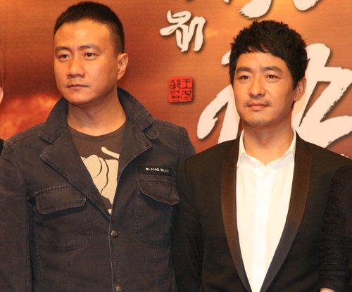 胡军首次演绎谍战剧 《风语》杭州盛大开机