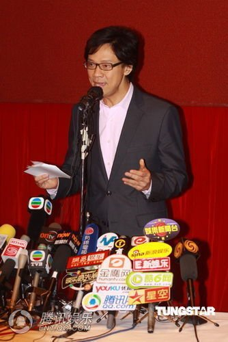 陈志云由王喜陪同参加讲座 追访媒体未能入内