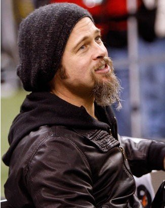 Brad Pitt Ugly Beard. However, Pitt recent