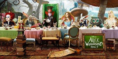 《爱丽丝梦游仙境》海报