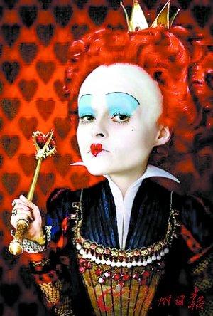 《爱丽丝梦游仙境》广州地区夺冠 3D果然厉害