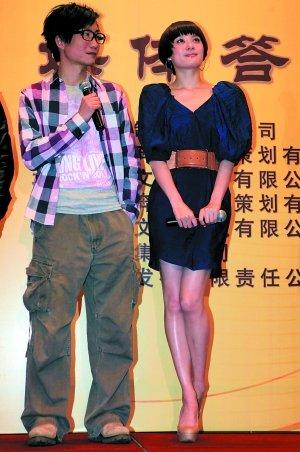 出席《越光宝盒》庆功会 郑中基强颜欢笑(图)