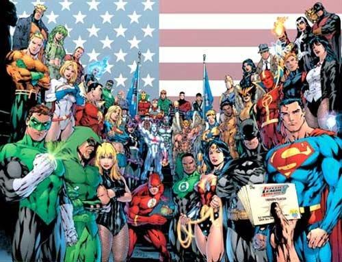华纳欲拍正义联盟电影 超人蝙蝠侠众英雄同台