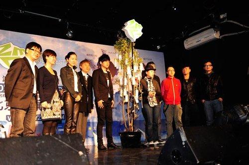 张震岳苏打绿领跑2010热波(成都)音乐节
