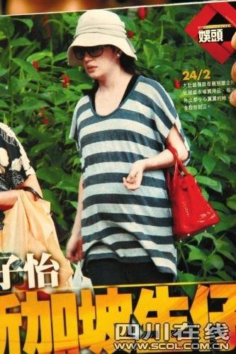 赵薇产女经纪人证实平安 为复出一直注意身材