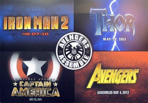 """""""美国队长""""""""雷神""""将在《钢铁侠2》结尾亮相"""