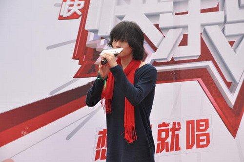 快男成都首日破四千 奥运歌手王乃恩报名第一人