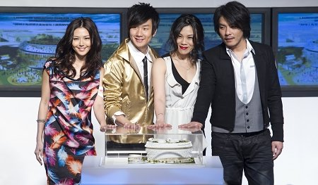 蔡健雅、孙燕姿、林俊杰、阿杜为世博首度合唱