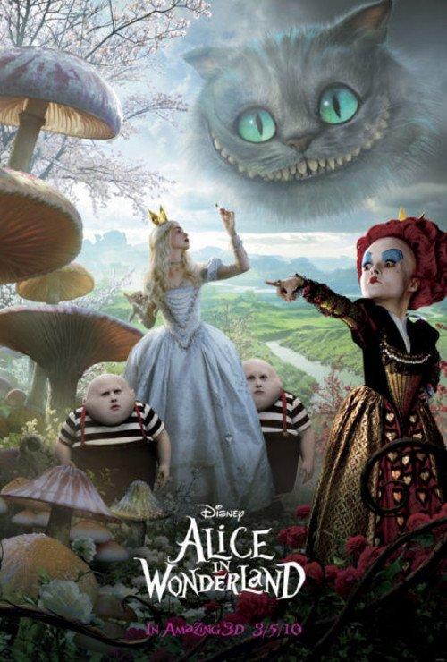 日本票房:《爱丽丝》率四新片挤走《阿凡达》