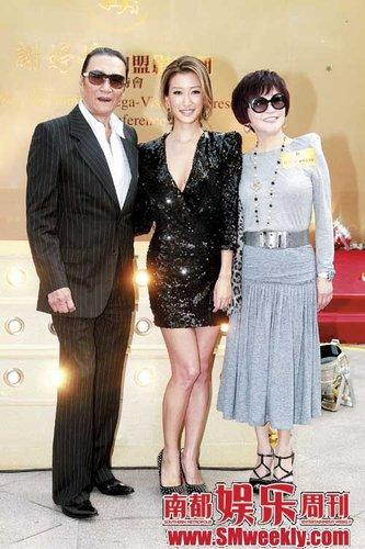 谢婷婷爆香港最著名家庭私事:张柏芝最幸福