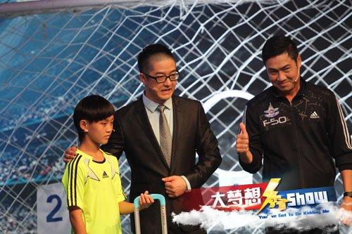 泰国国足皮耶蓬登《大梦想秀》 受中国少儿挑