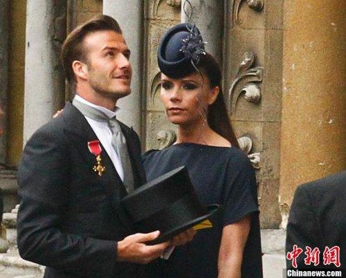 贝克汉姆爱女7月出生 已邀请威廉王子担任教父