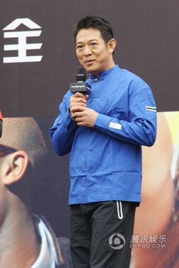 李连杰酝酿推广太极 同名电影预计六月开机(图)