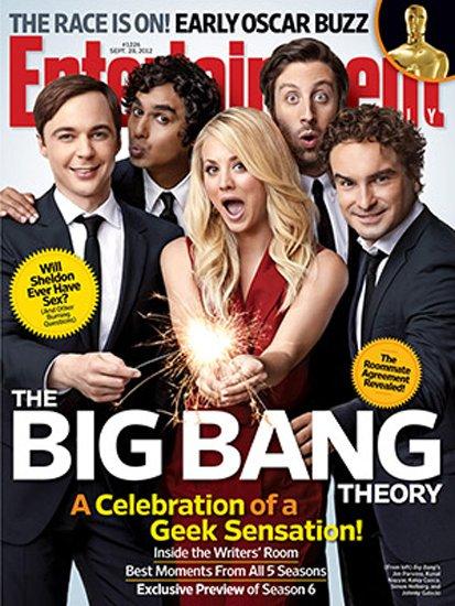 《生活大爆炸》主角登杂志封面 已成电视界现象