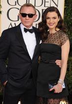007克雷格携爱妻薇兹走红毯