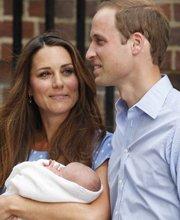 凯特王妃注视威廉王子