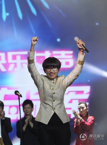 2011快女总决赛收官 段林希夺冠刘忻大热倒灶
