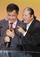 方浩源获专业精神奖:希望电影界团结一心