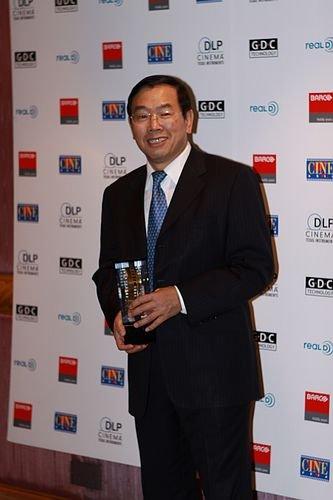 万达电影院线获CineAsia2010年度放映商大奖