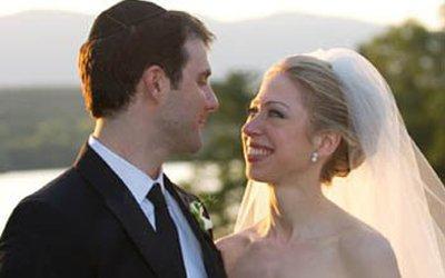 克林顿嫁女堪比王室