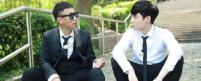 """在《极限挑战》中,孙红雷和张艺兴被称为""""红兴cp"""""""