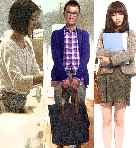 小清新电影中男女主角的造型讲究不少