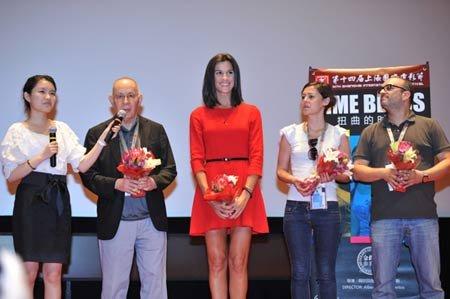 《扭曲的时光》亮相电影节 导演称想了解中国