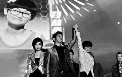 2011快女冠军段林希:我没哭,所以我赢了