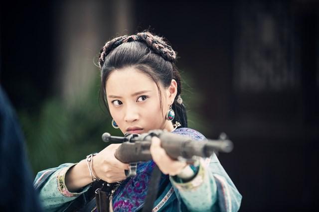 """《最后的战士》播出 """"抗日女战士""""蔡蝶再回归"""