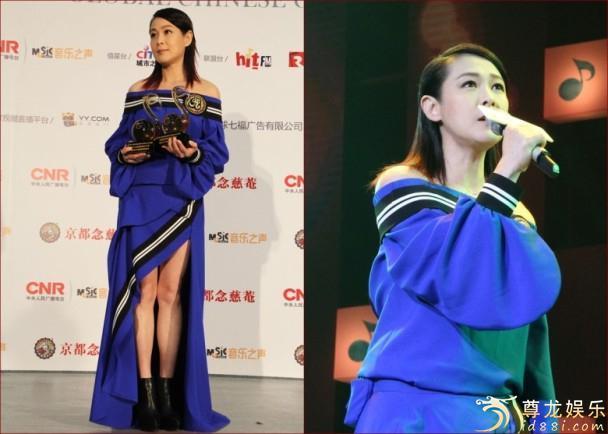 奶茶斩获三项大奖 刘若英积极筹备台北演唱会