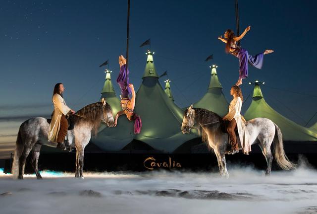 《Cavalia.舞马》北京首演 马明星身价非凡