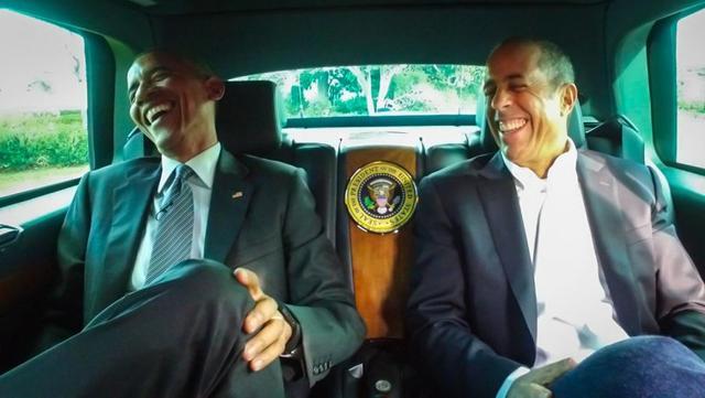 """奥巴马再次""""跨界"""" 将客串《谐星乘车买咖啡》"""
