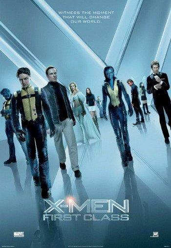 《X战警:第一战》发群星海报 变异人悉数亮相