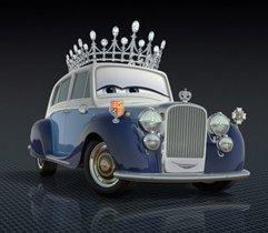 《赛车总动员2》汽车版的英国女王