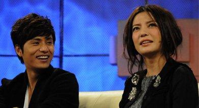 2009年宣传《花木兰》,陈坤赵薇一起上《鲁豫有约》