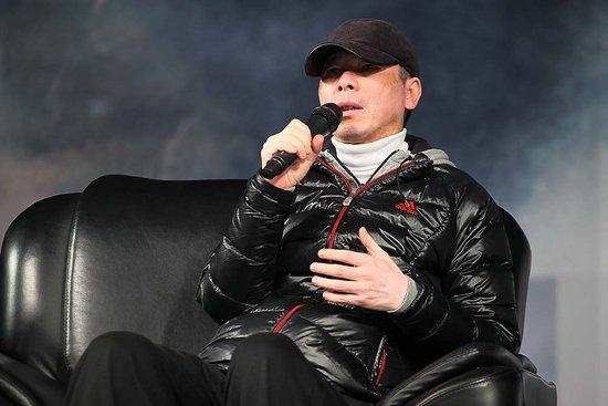 《一九四二》做客人大 冯小刚:与观众平起平坐