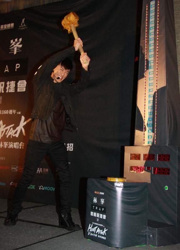 林峯爆健身秘籍 个人演唱会即将在红磡强势来袭