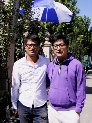 《乐翻天》北京开拍 姜武宁静首度合作擦火花