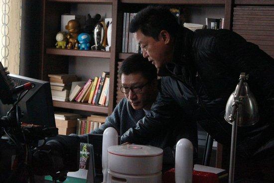 《男人帮》沪上热拍 孙红雷片场哼歌带动气氛